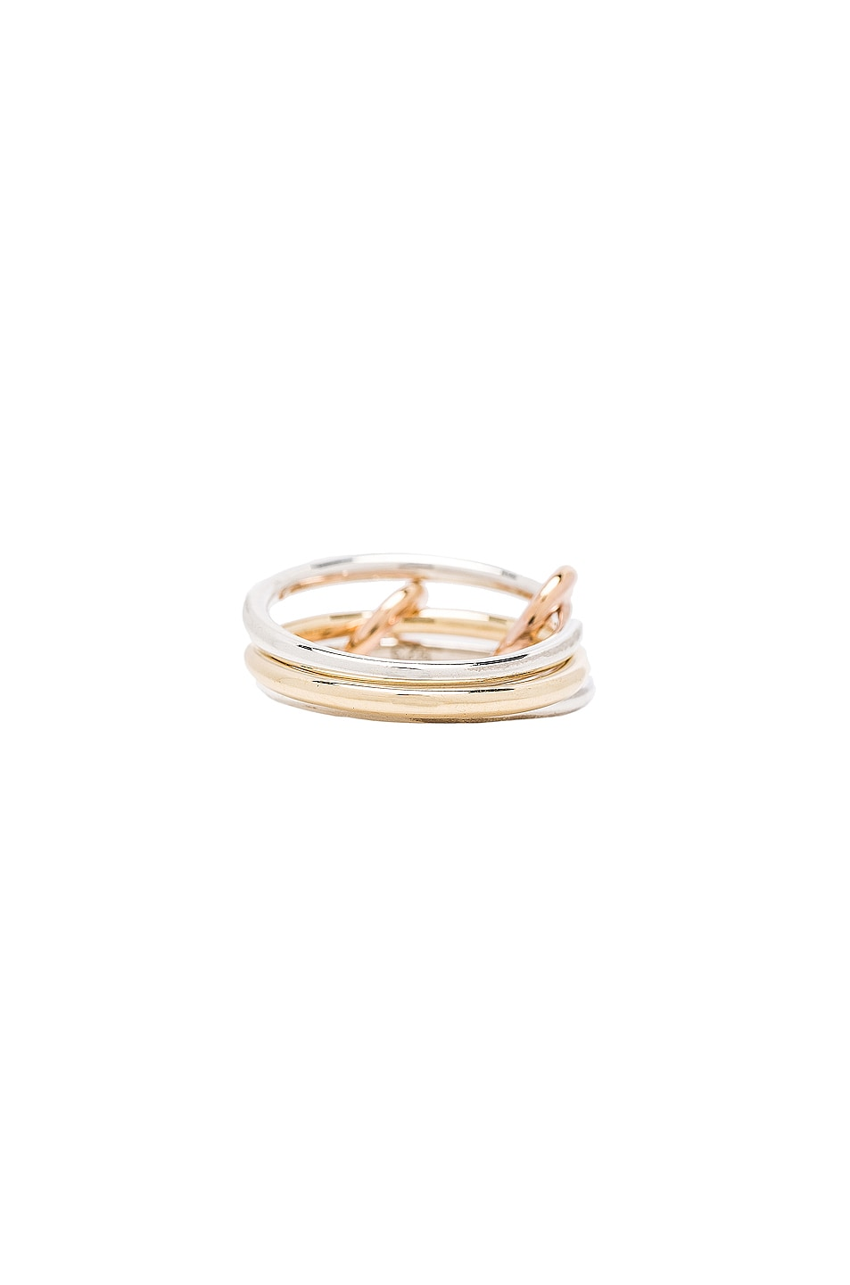 Image 4 of Spinelli Kilcollin Solarium Silver Ring in 18K Yellow Gold