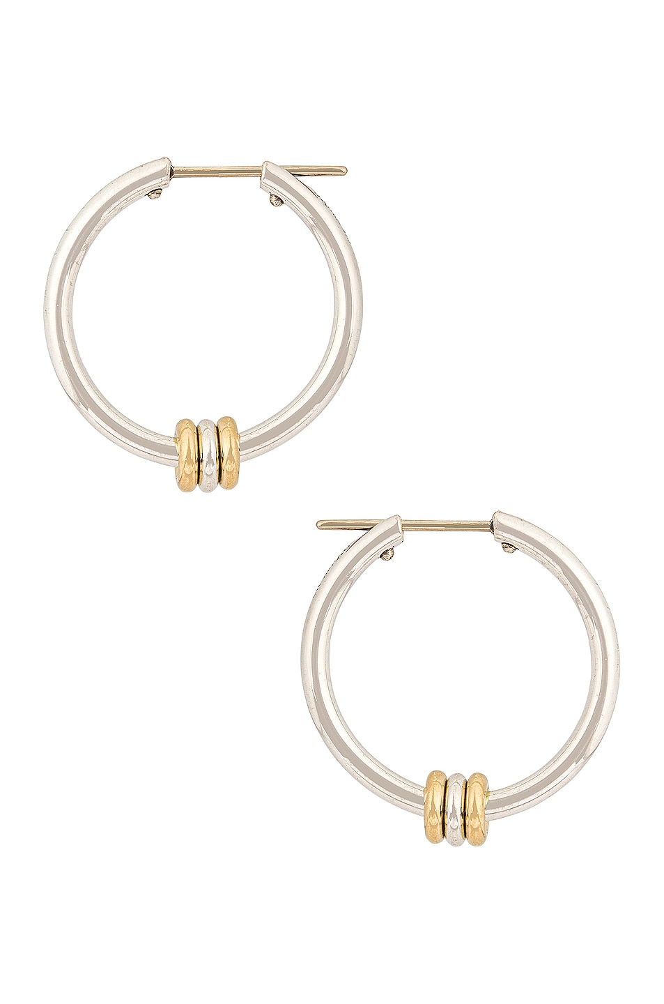 Image 1 of Spinelli Kilcollin Argo SG Earrings in Sterling Silver & 18K Yellow Gold