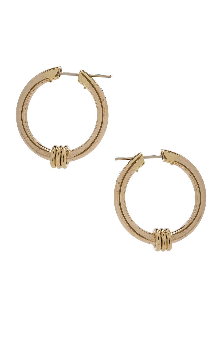 Image 1 of Spinelli Kilcollin Ursa Major Hoop Earrings in 18K Yellow Gold