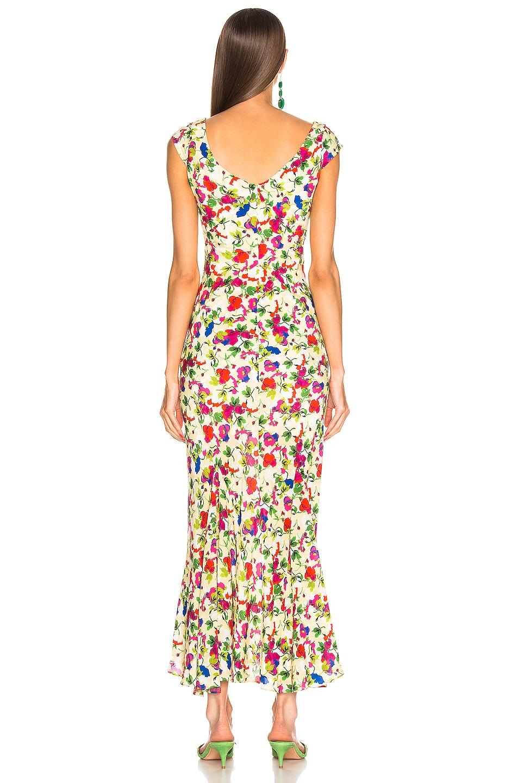 Image 3 of SALONI Daphne C Dress in Lemon Poppies