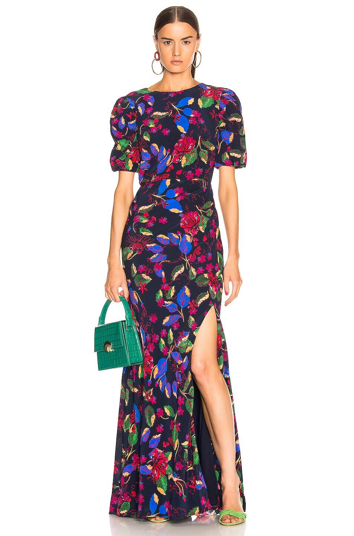Image 1 of SALONI Annie B Dress in Indigo Carlotta Large