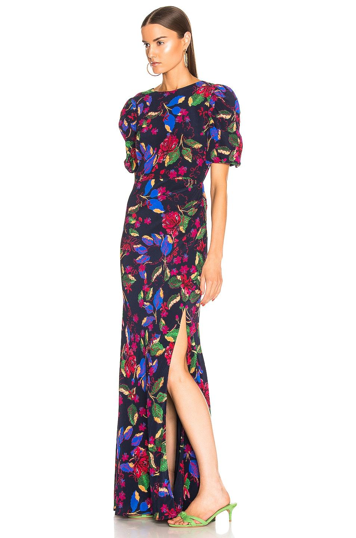 Image 3 of SALONI Annie B Dress in Indigo Carlotta Large