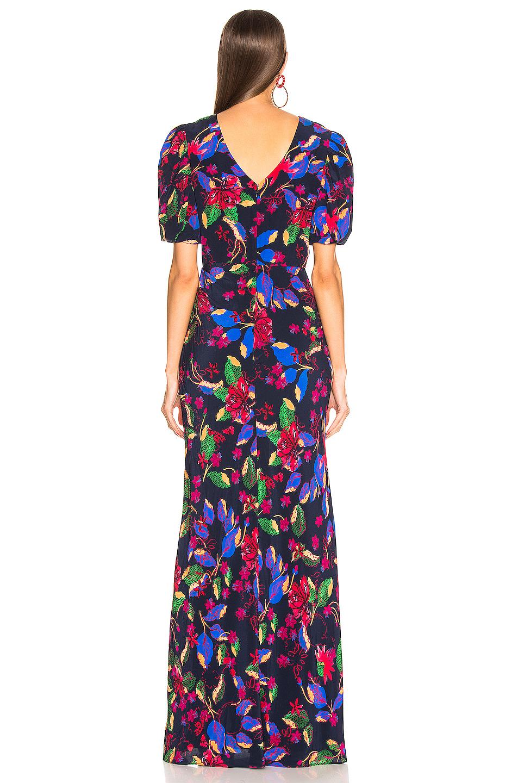 Image 4 of SALONI Annie B Dress in Indigo Carlotta Large