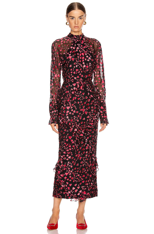 Image 1 of SALONI Alek B Dress in Hearts
