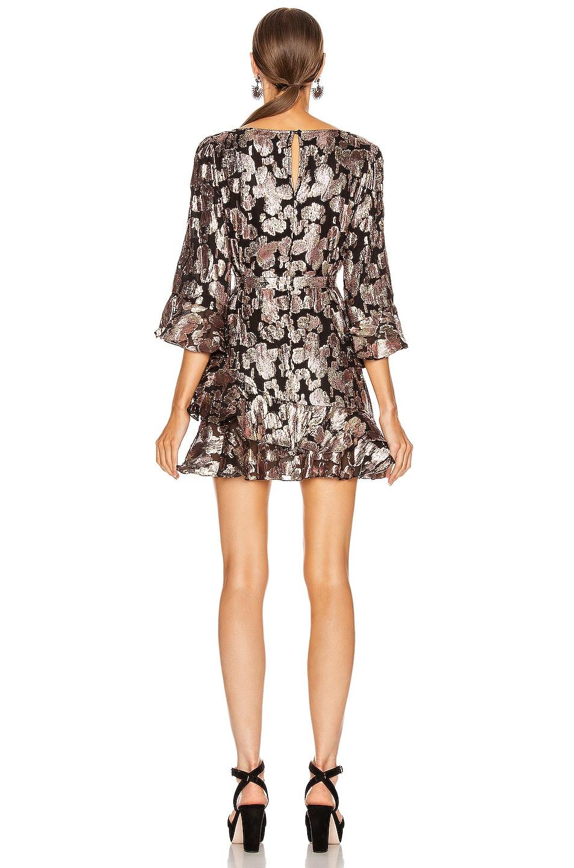 Image 3 of SALONI Marissa Mini C Dress in Rose Purl