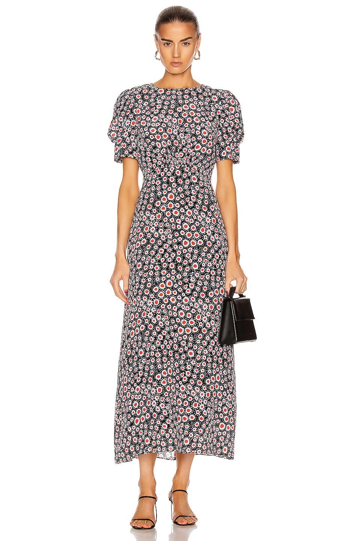 Image 1 of SALONI Bianca Dress in Batik Dot