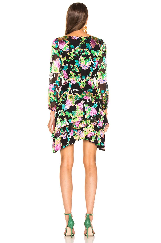 Image 4 of SALONI Felicia Dress in Hydrangea