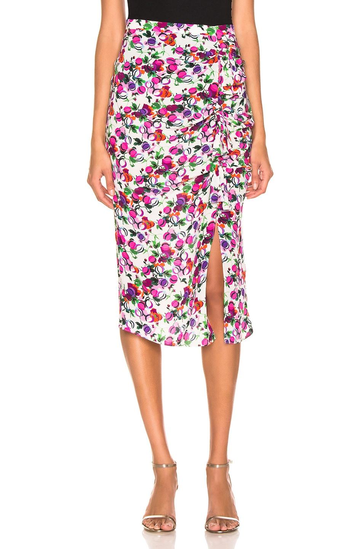 Image 1 of SALONI Kelly Skirt in Rose Bounty