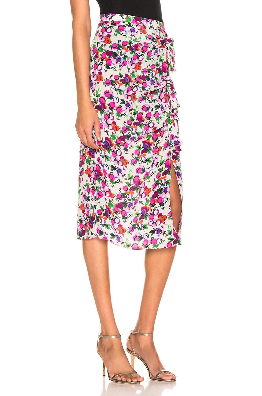 Image 2 of SALONI Kelly Skirt in Rose Bounty