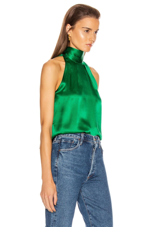 Image 2 of SALONI Michelle B Top in Emerald Green
