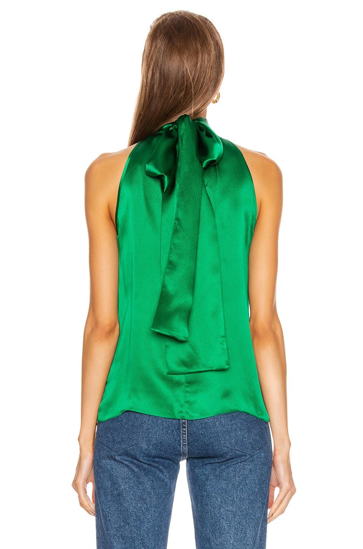 Image 3 of SALONI Michelle B Top in Emerald Green