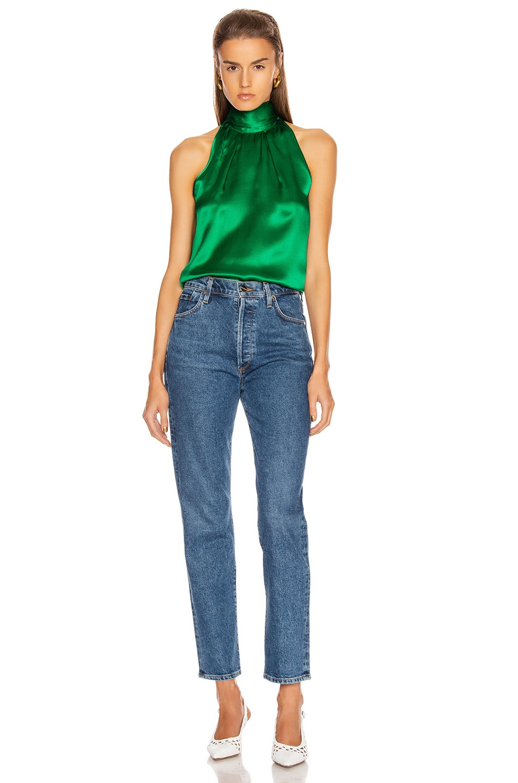 Image 4 of SALONI Michelle B Top in Emerald Green