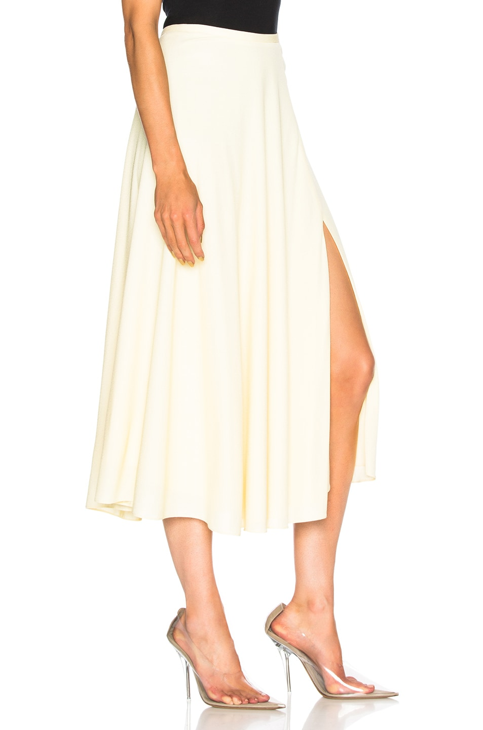Image 2 of Sally Lapointe Circle Skirt in Sprite