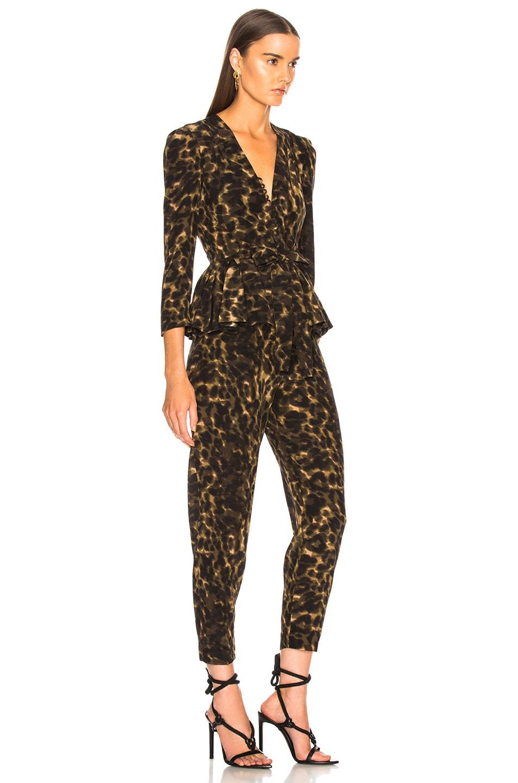 Image 2 of Stella McCartney Liliana Leopard Camouflage Jumpsuit in Multicolor
