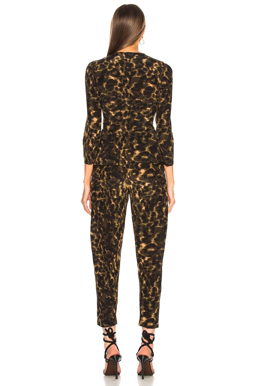 Image 3 of Stella McCartney Liliana Leopard Camouflage Jumpsuit in Multicolor