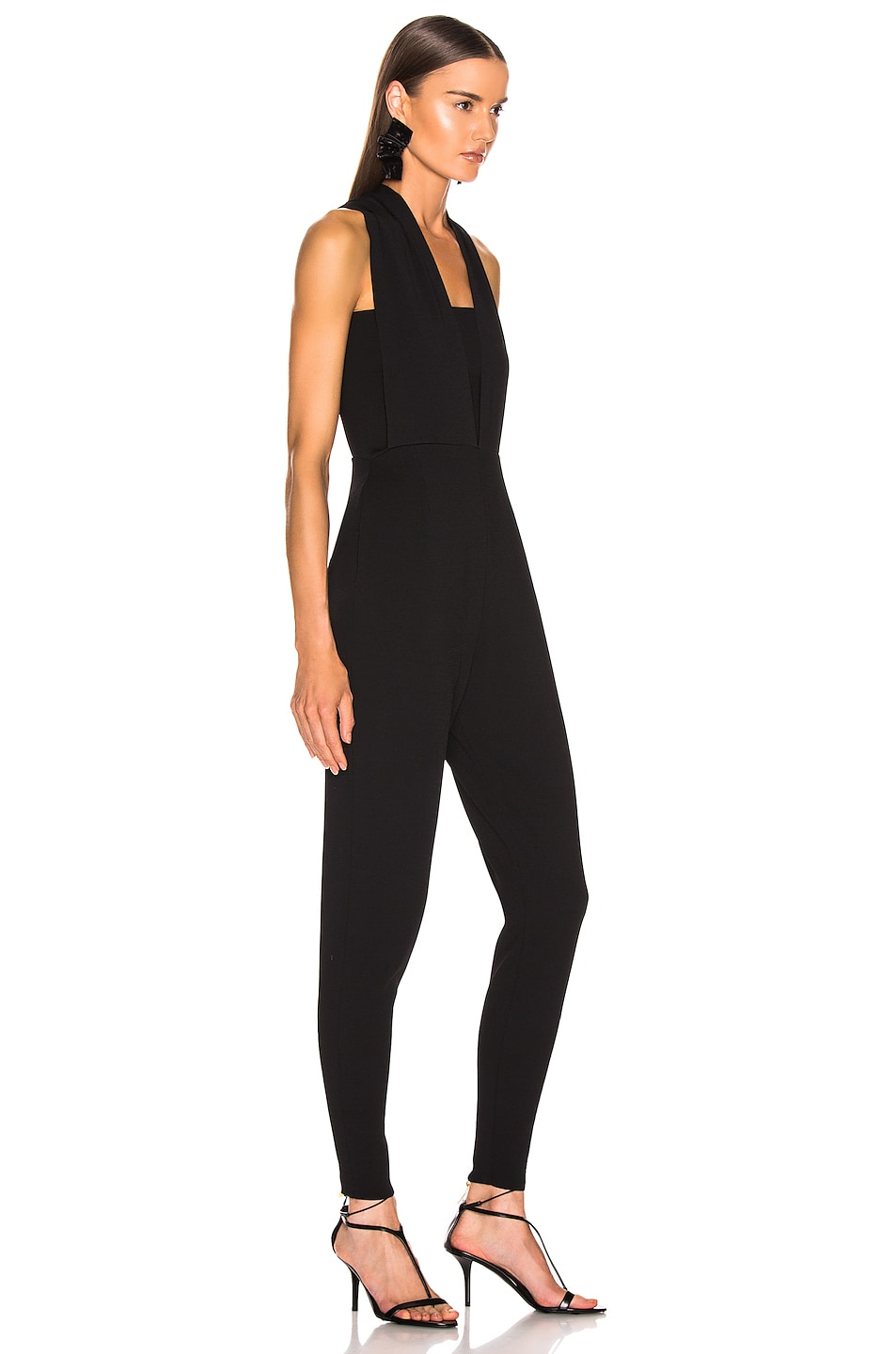 Image 2 of Stella McCartney All In One Strong Jumpsuit in Black
