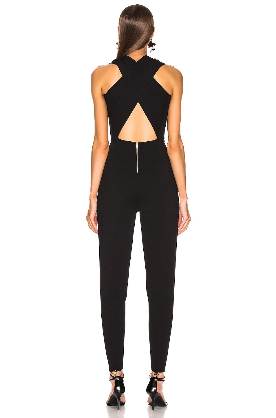Image 3 of Stella McCartney All In One Strong Jumpsuit in Black