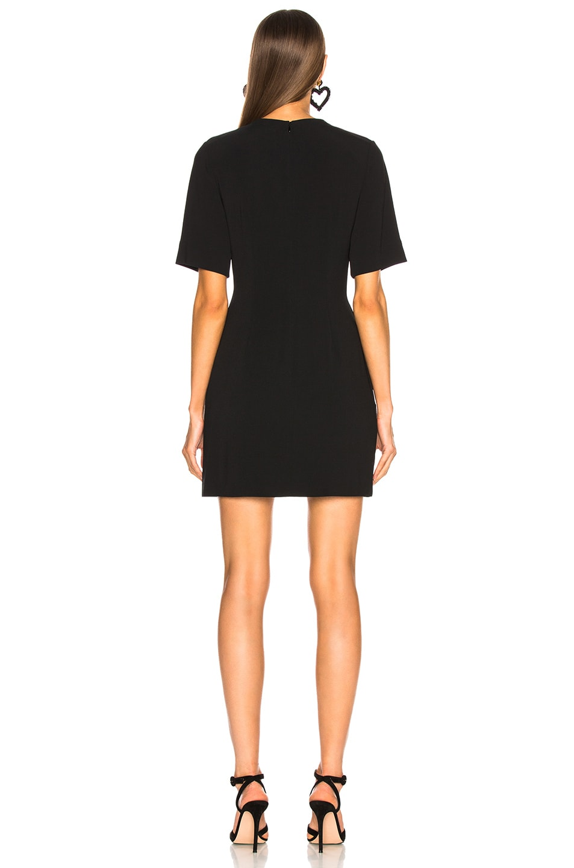 Image 3 of Stella McCartney Lace Up Mini Dress in Black