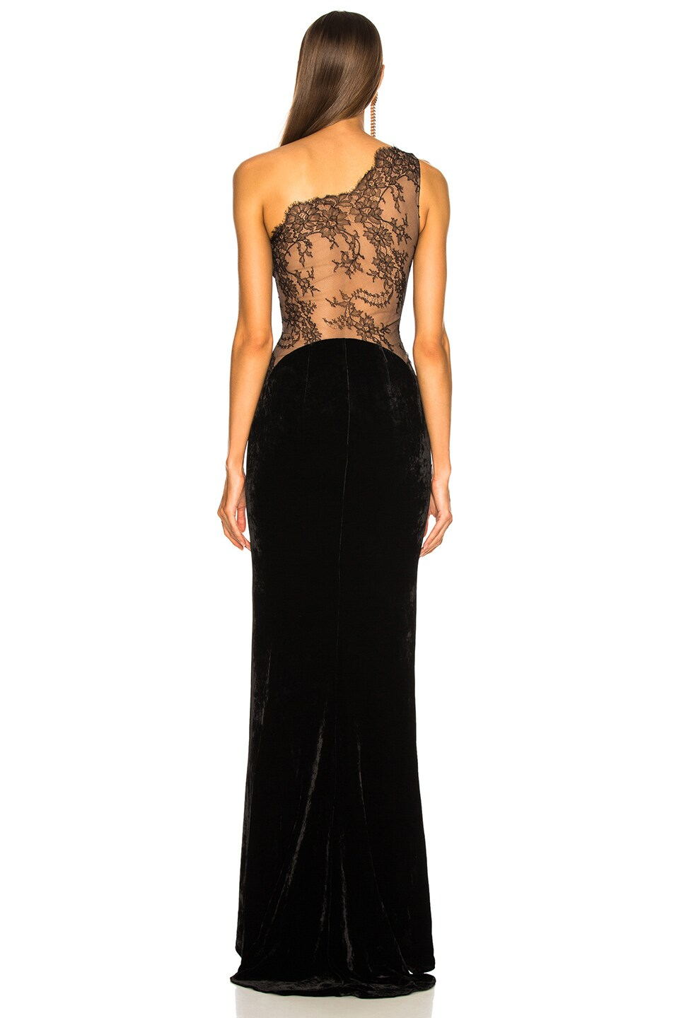 Image 5 of Stella McCartney One Shoulder Gown in Black