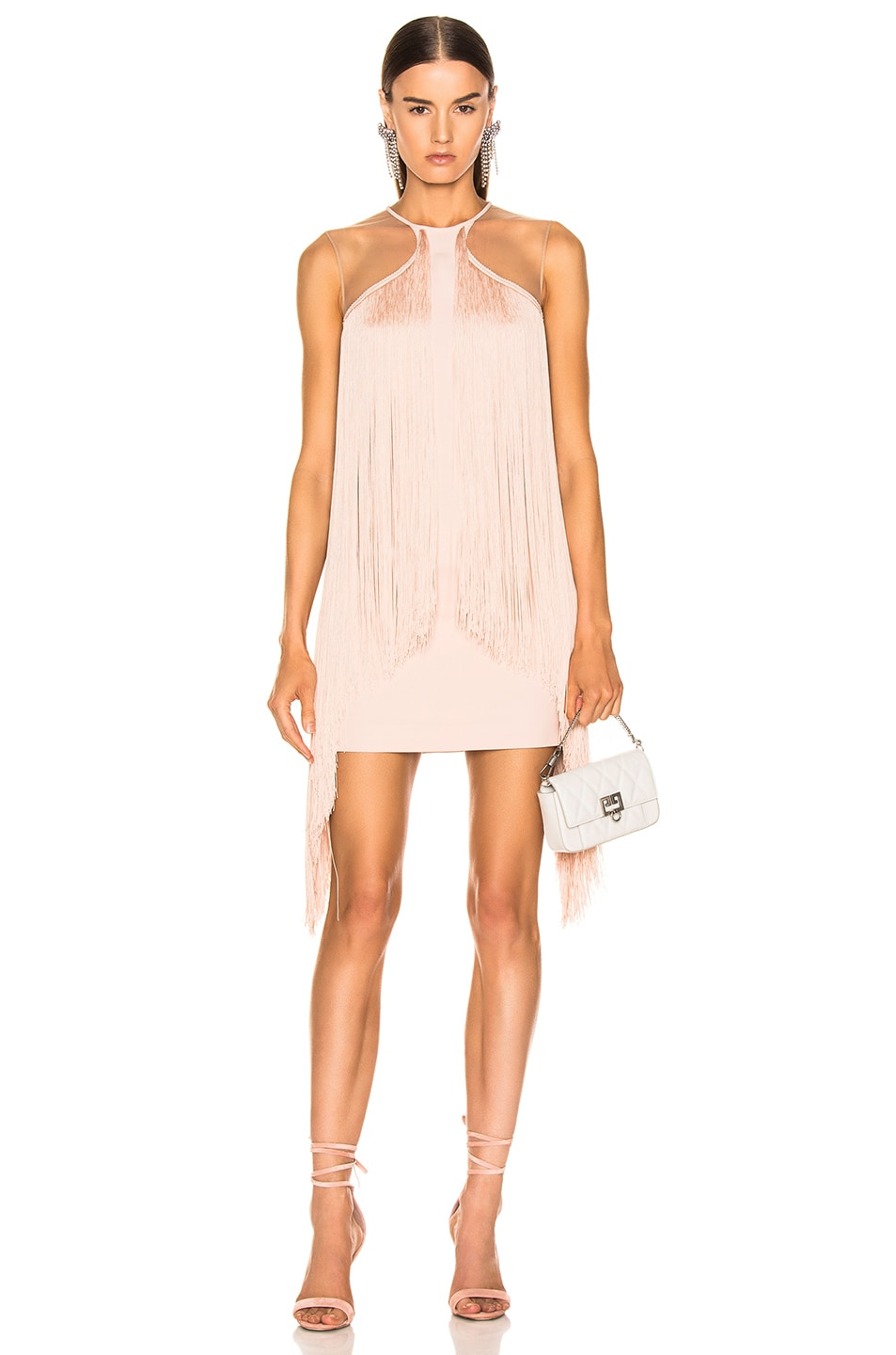 Image 1 of Stella McCartney Fringe Dress in Rose