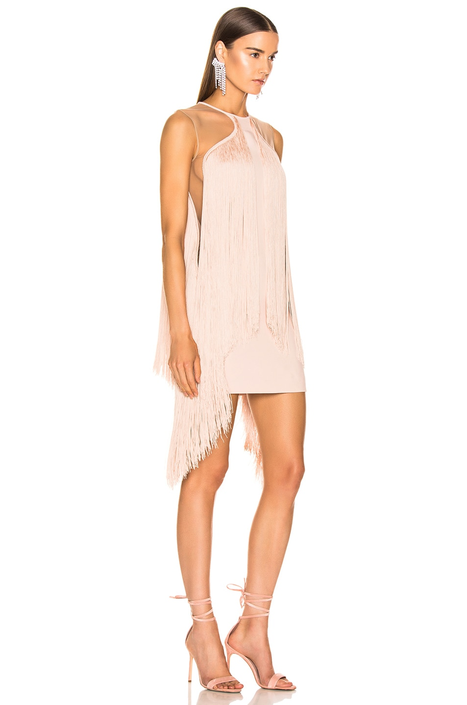 Image 2 of Stella McCartney Fringe Dress in Rose