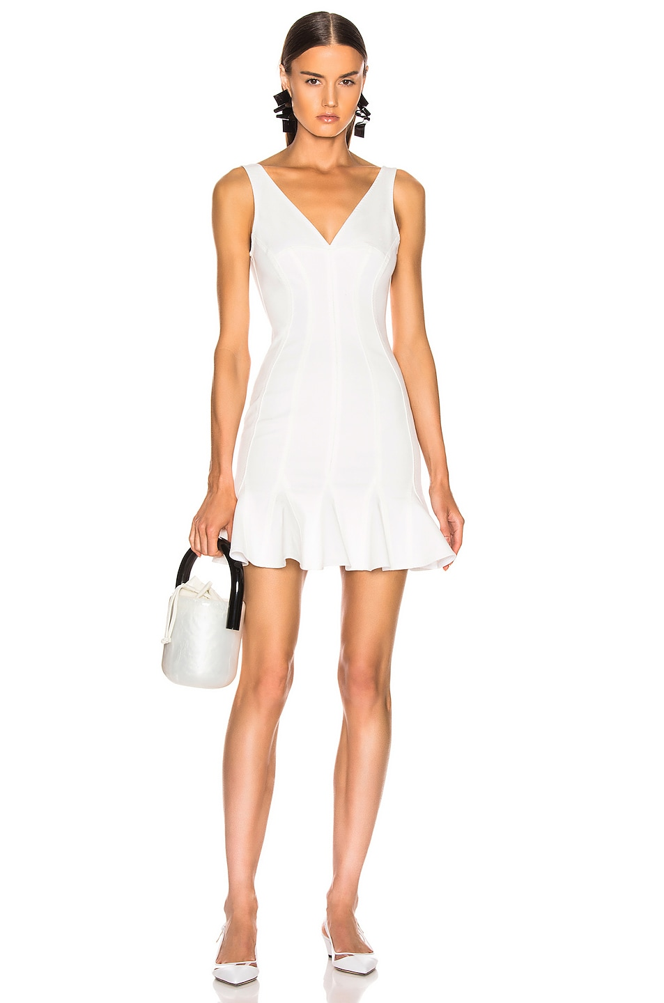 Image 1 of Stella McCartney Mini Dress in White
