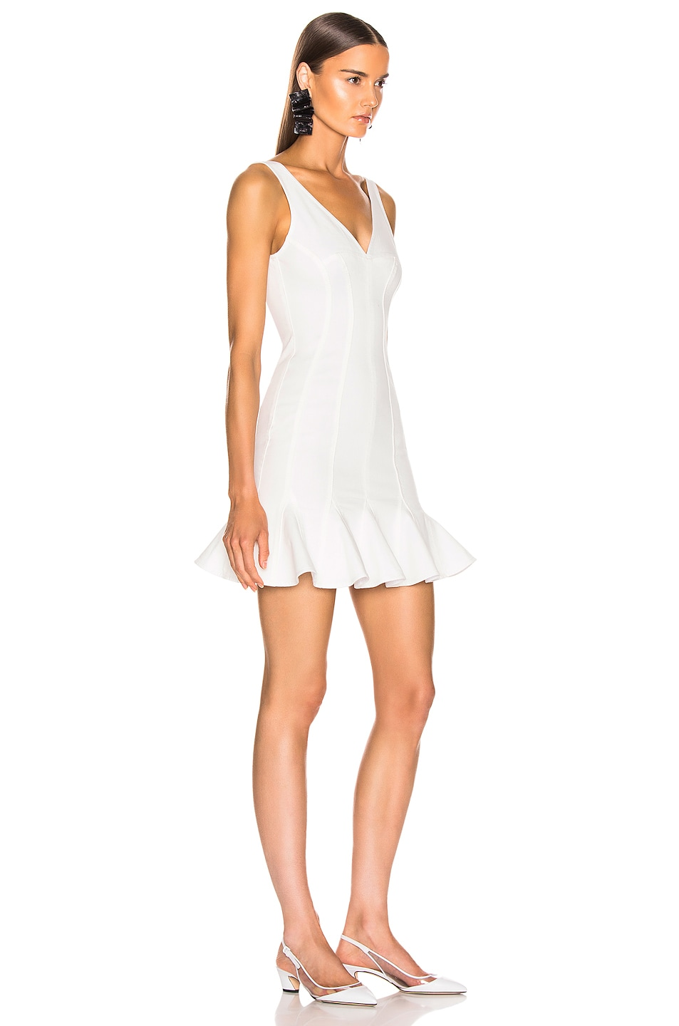 Image 2 of Stella McCartney Mini Dress in White