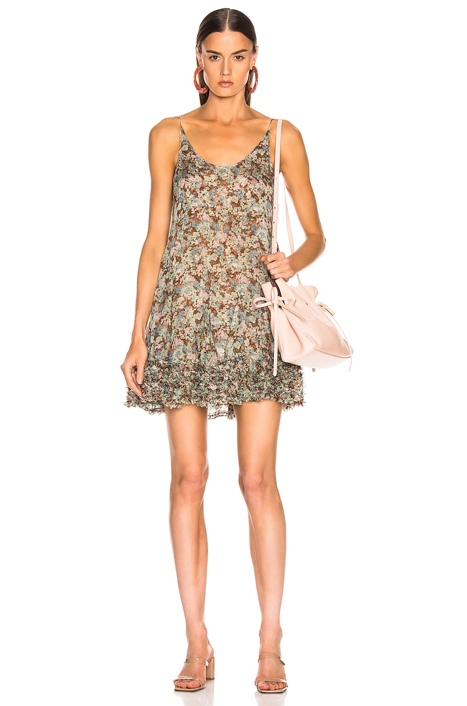 Image 1 of Stella McCartney Meadow Floral Dress in Multicolor