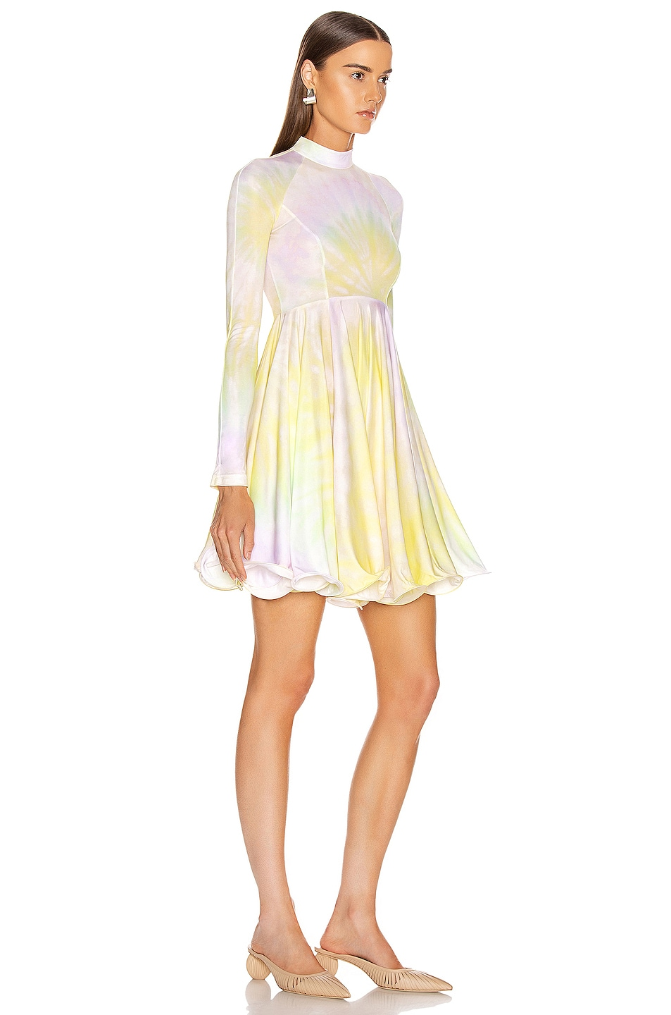 Image 2 of Stella McCartney Multi Mini Dress in Multicolor Lemonade