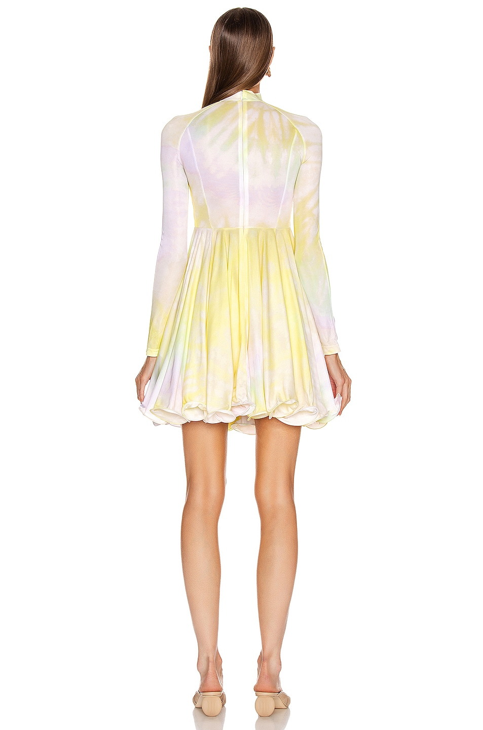 Image 3 of Stella McCartney Multi Mini Dress in Multicolor Lemonade