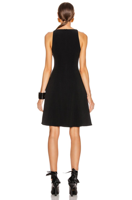 Image 3 of Stella McCartney Parkes Evening Deep V Dress in Black