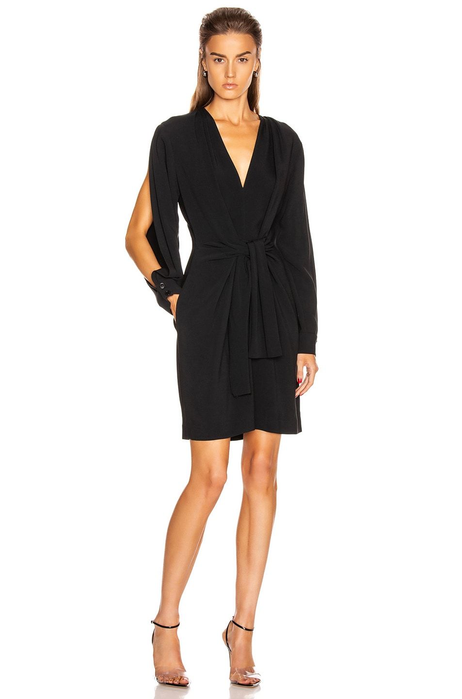 Image 1 of Stella McCartney Cady Mini Dress in Black