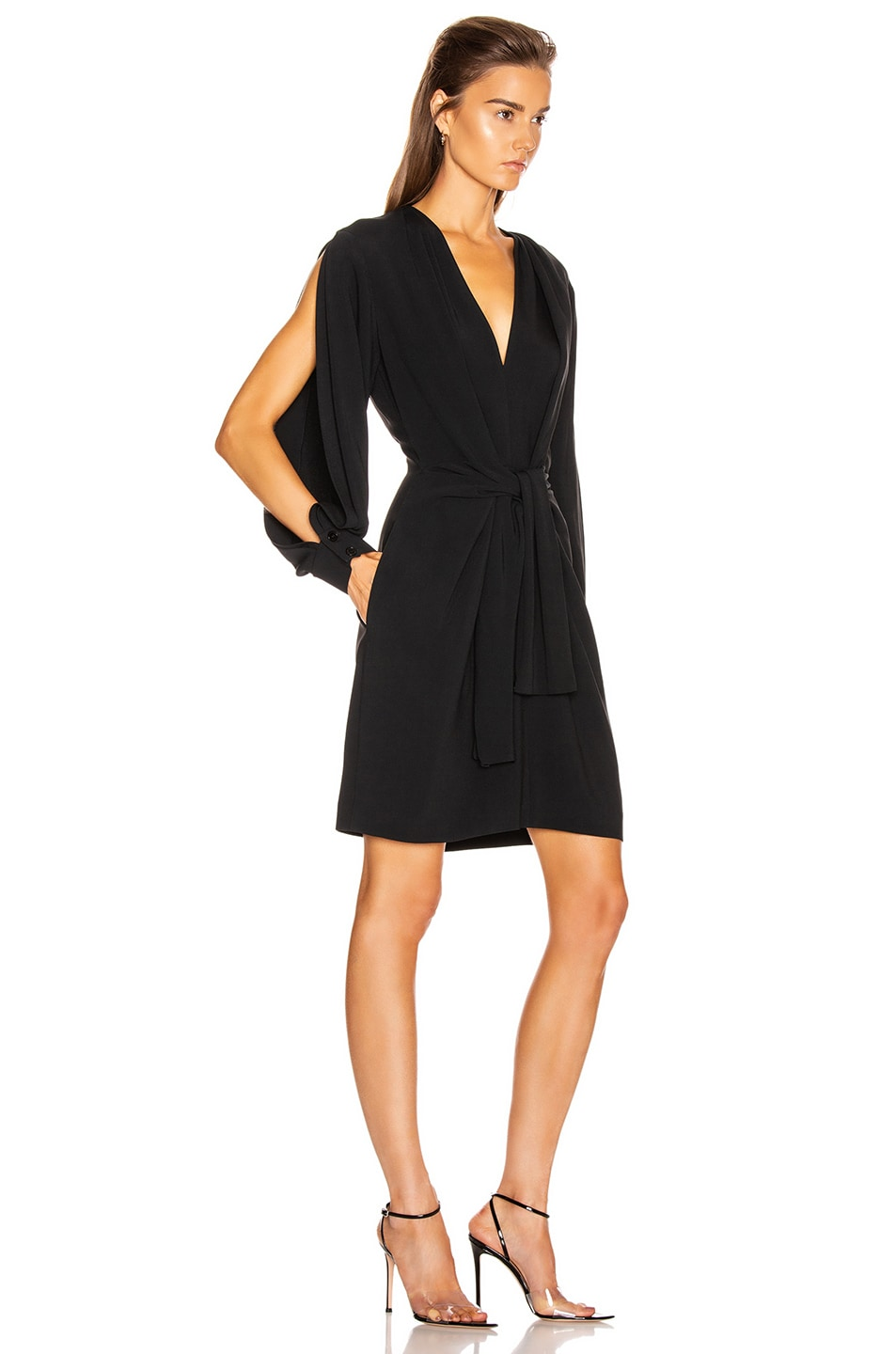 Image 2 of Stella McCartney Cady Mini Dress in Black