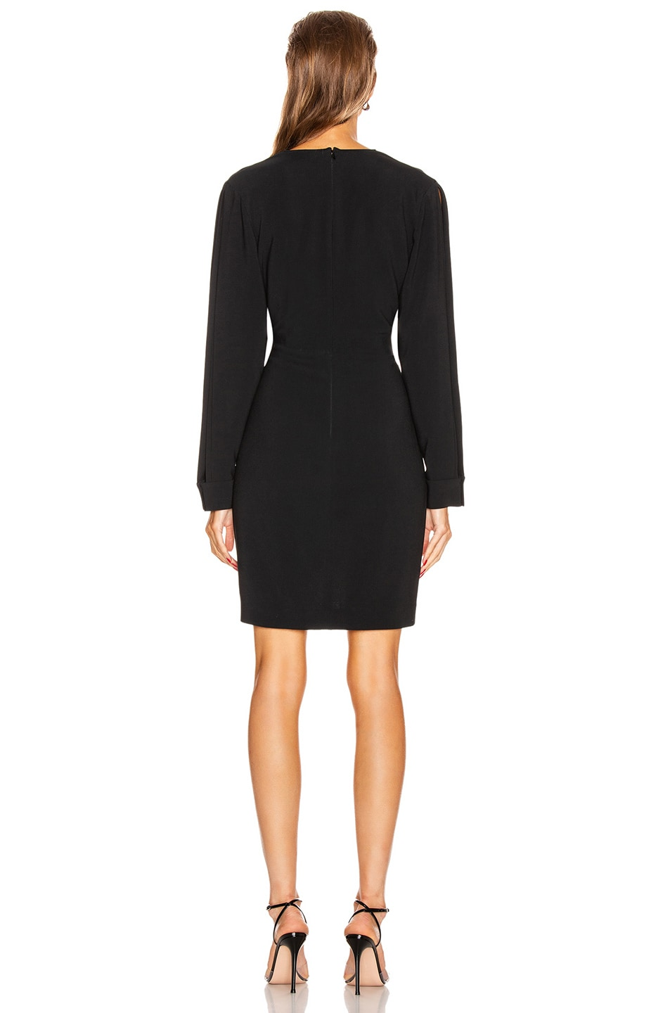 Image 3 of Stella McCartney Cady Mini Dress in Black