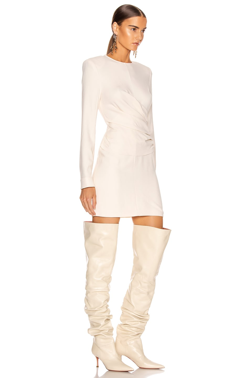 Image 2 of Stella McCartney Cady Dress in Gesso