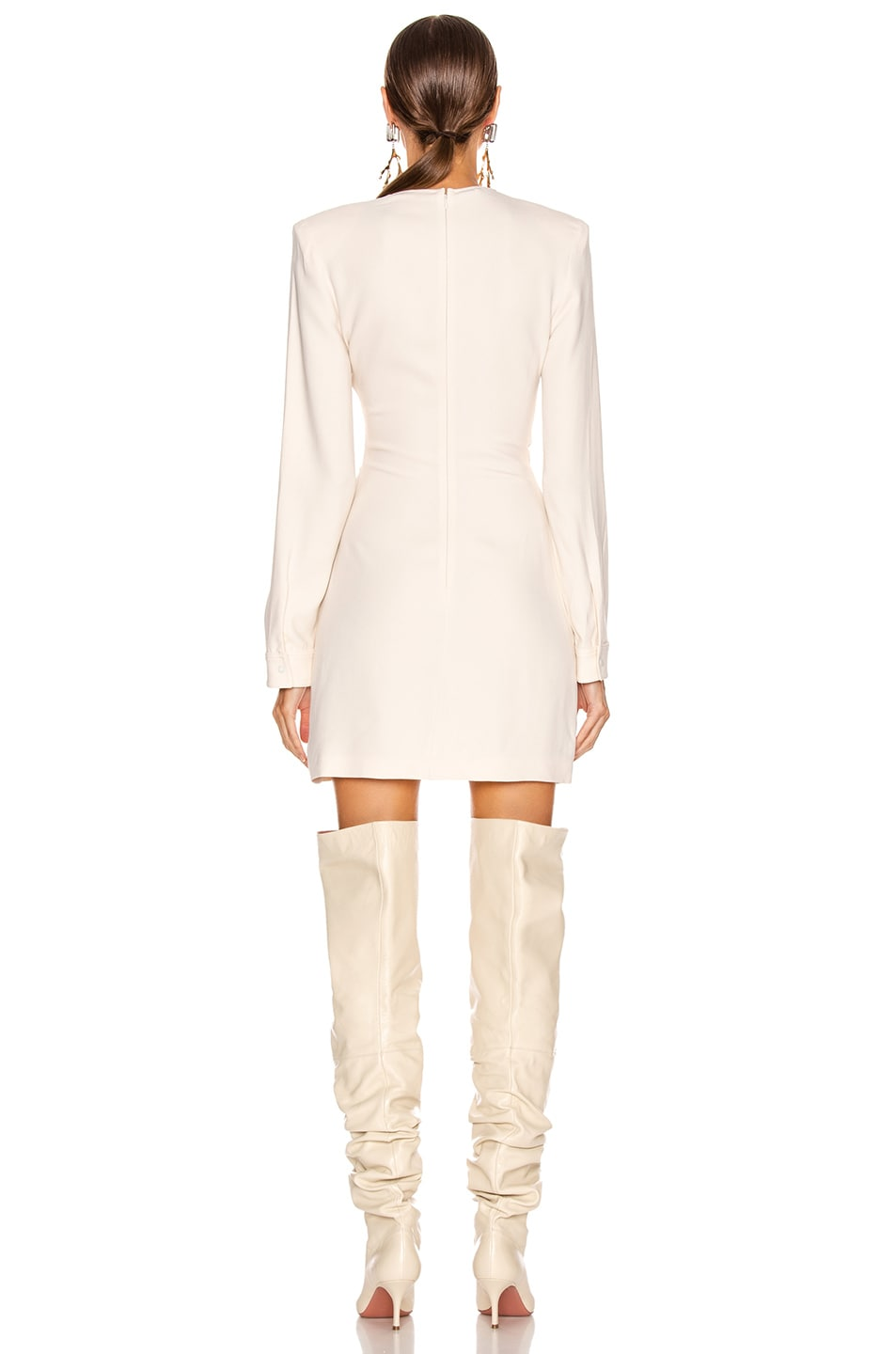 Image 3 of Stella McCartney Cady Dress in Gesso