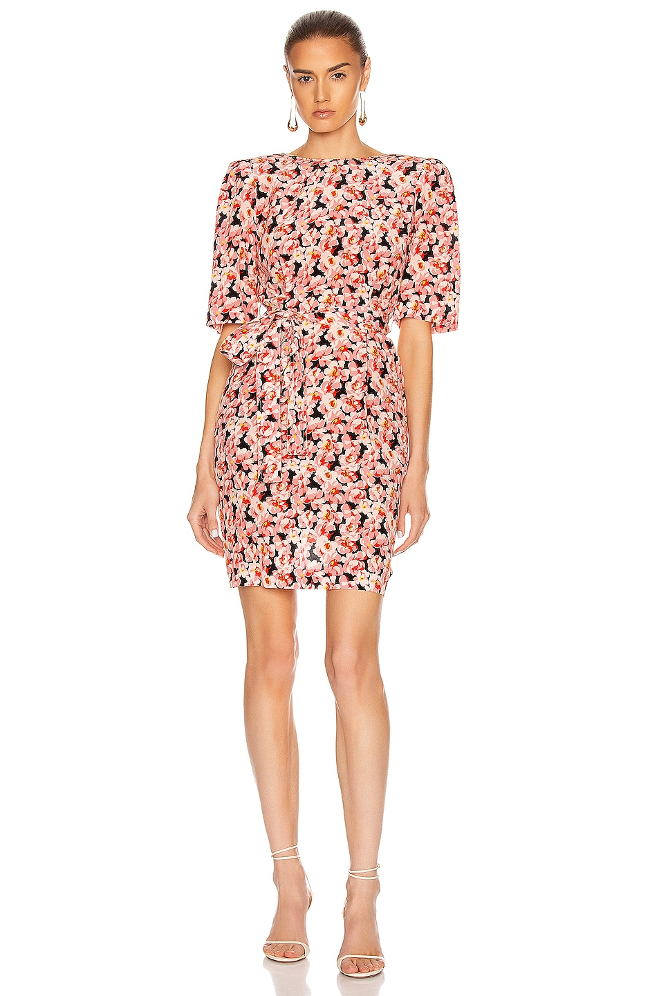 Image 1 of Stella McCartney Blossom Dress in Multicolor Pink