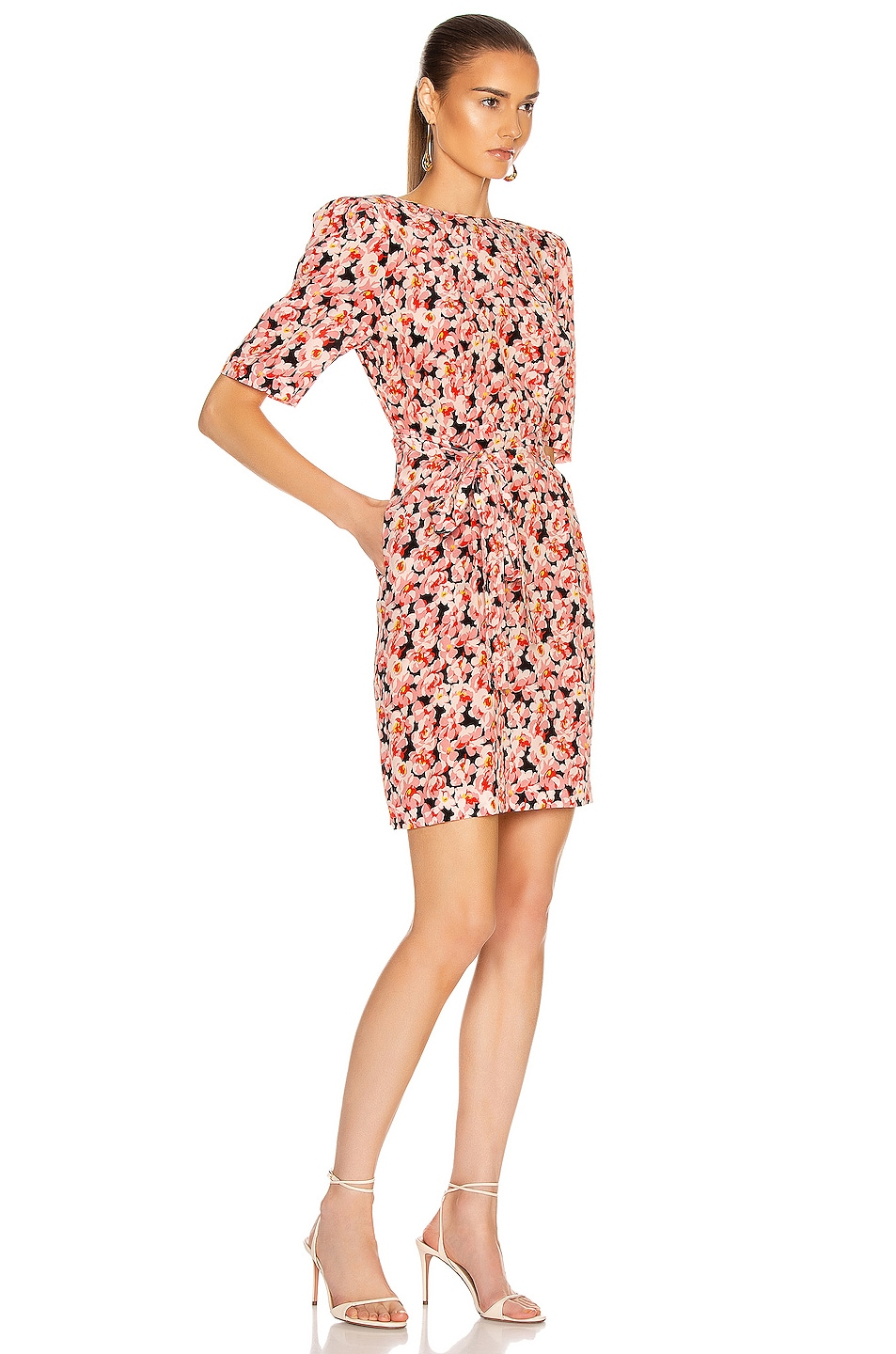 Image 2 of Stella McCartney Blossom Dress in Multicolor Pink