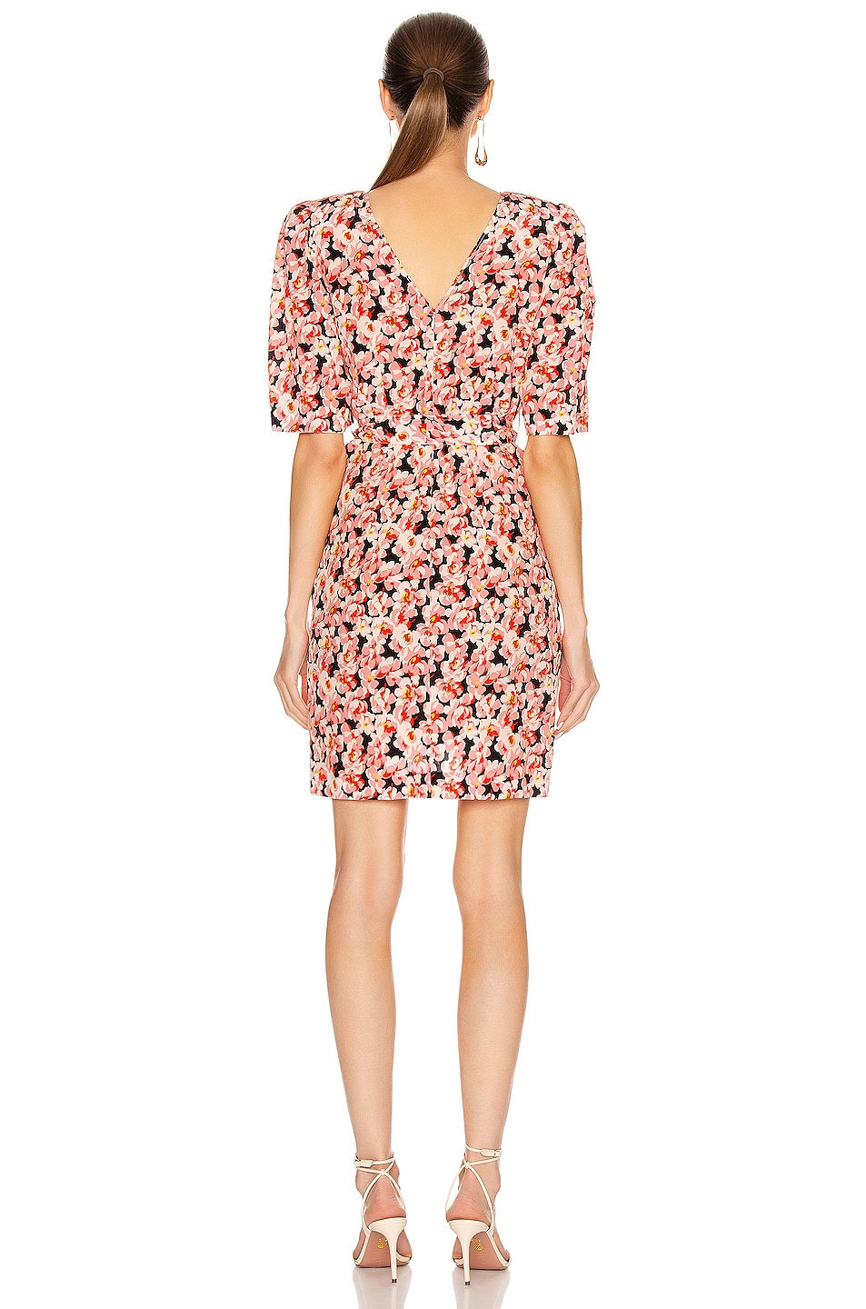 Image 3 of Stella McCartney Blossom Dress in Multicolor Pink