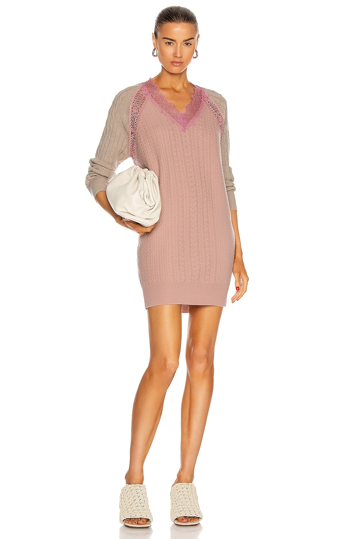 Image 1 of Stella McCartney Effortless Dress in Parchment Jersey
