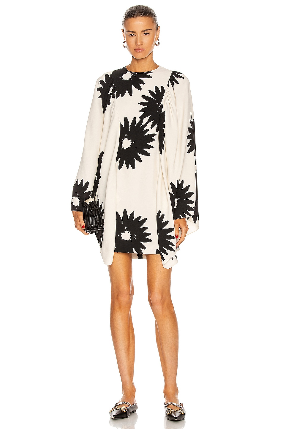 Image 1 of Stella McCartney Luciana Floral Dress in Cream