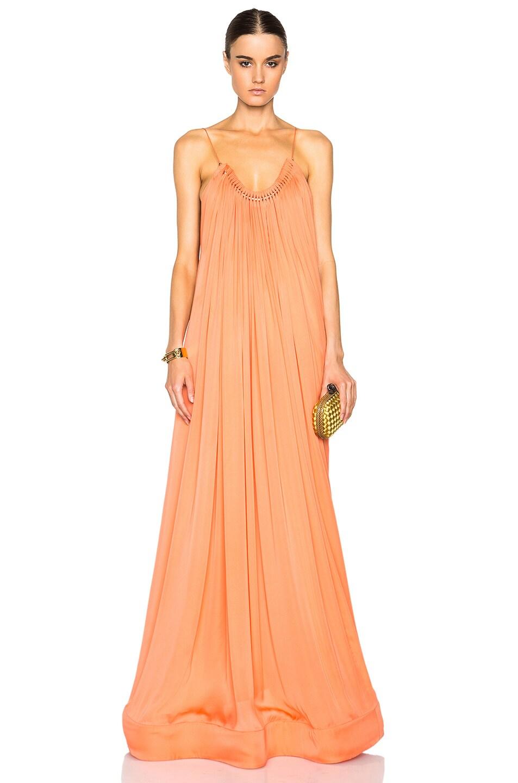 Stella McCartney Long Dress in Sugar Candy | FWRD