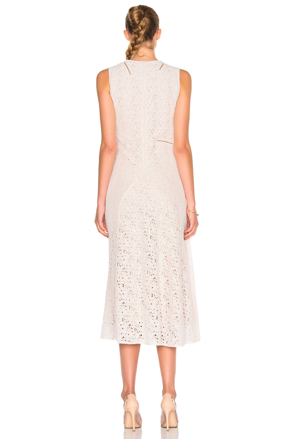 Image 4 of Stella McCartney Rose Lace Dress in Ivory