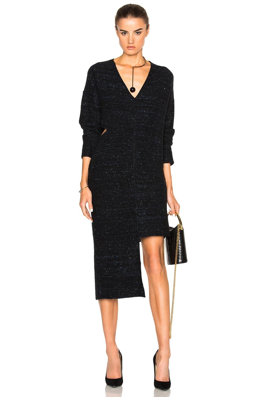 Image 1 of Stella McCartneyFlannel Dress in Black