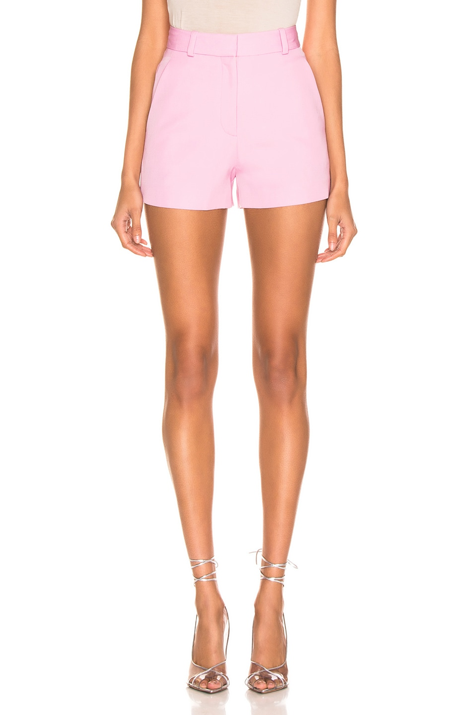 Image 1 of Stella McCartney Tailored Short in Tulip Pink