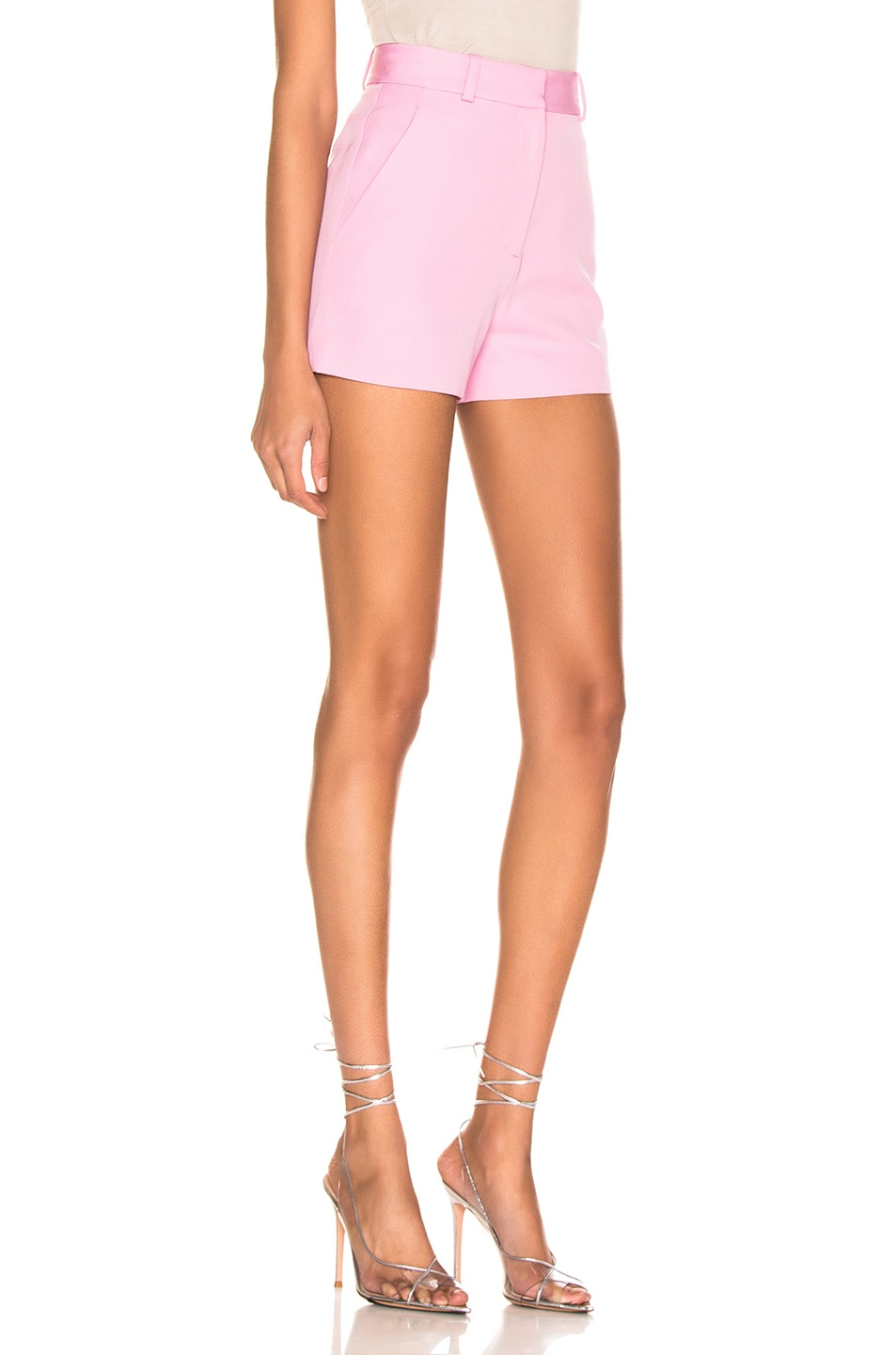 Image 2 of Stella McCartney Tailored Short in Tulip Pink