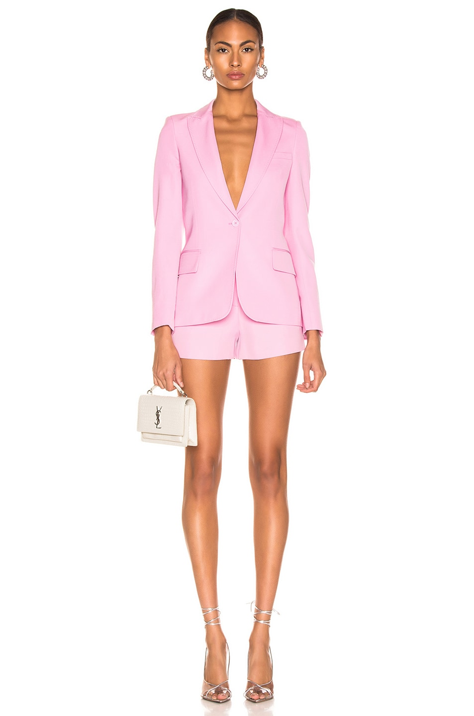 Image 4 of Stella McCartney Tailored Short in Tulip Pink