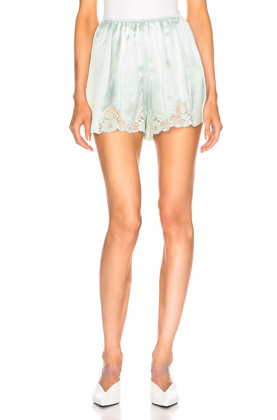 Image 1 of Stella McCartney High Wasited Short in Light Mint