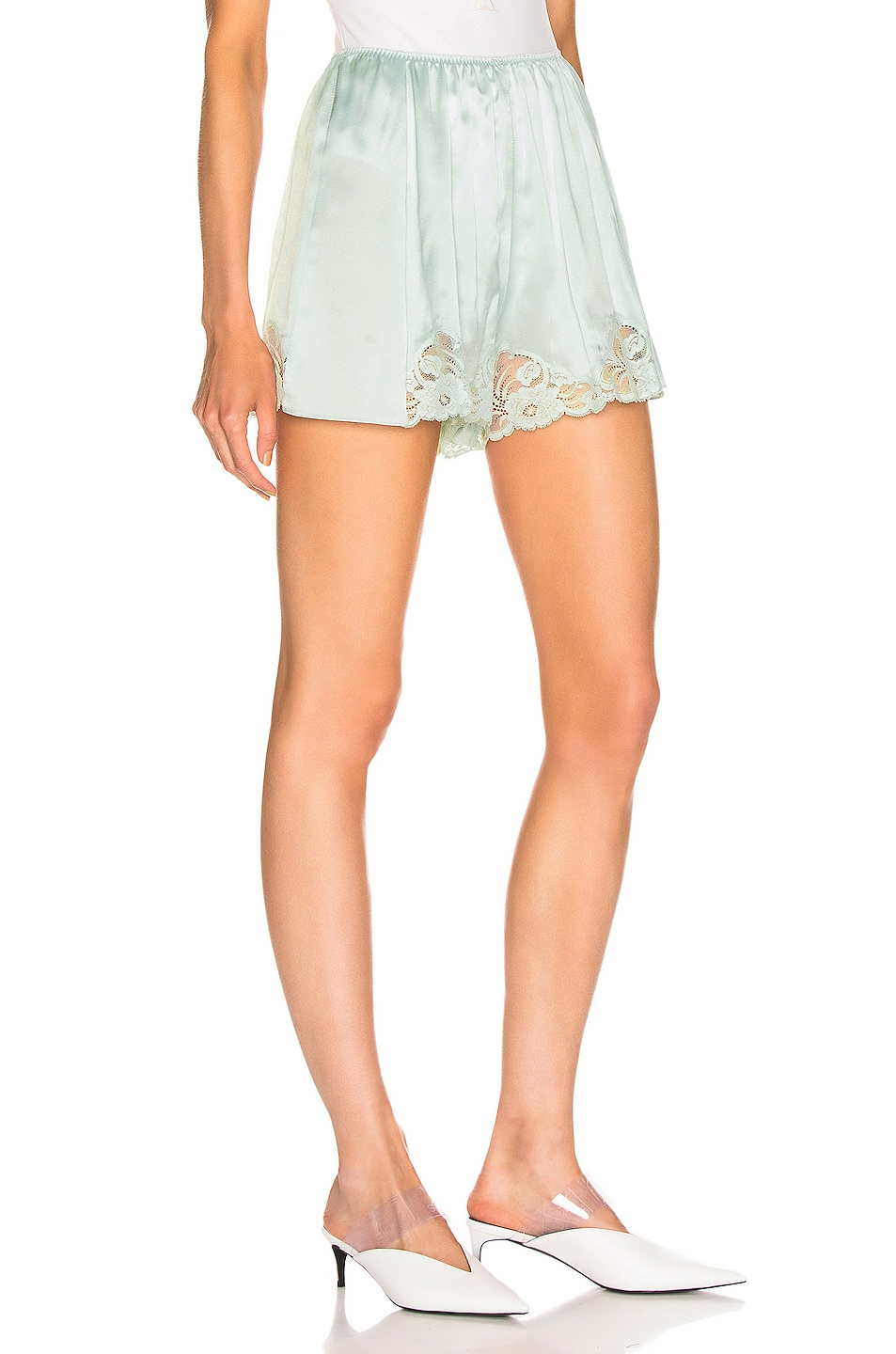 Image 2 of Stella McCartney High Wasited Short in Light Mint