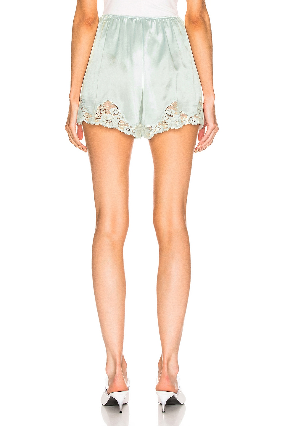 Image 3 of Stella McCartney High Wasited Short in Light Mint